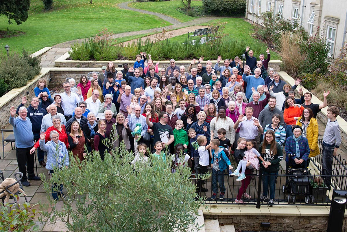 Part of the Oundle St Peters Congregation